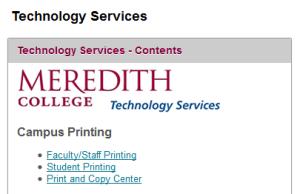 Campus Printing